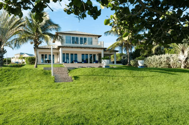 The Villa Exterior